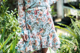 Light blue flower Dress