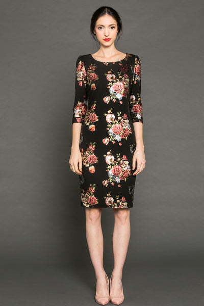 Elegant Roses MM dress