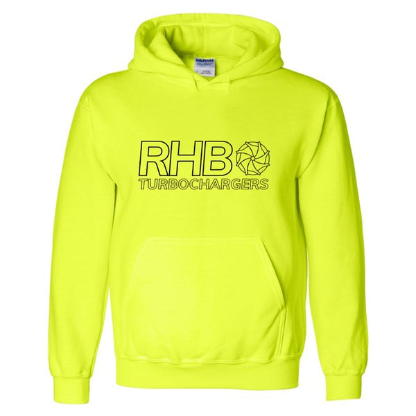 RHB Hoodie - Safety Green