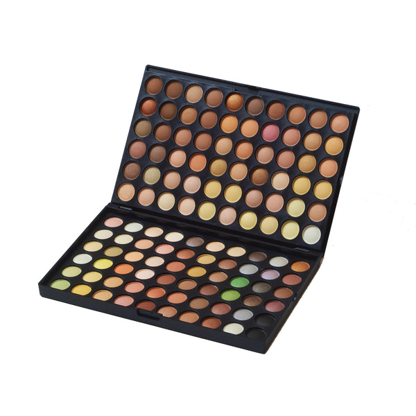 120 Color Warm Eye Shadow Palette
