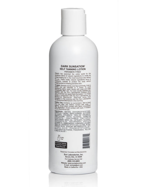 Self Tanning Lotion Very Dark 8 oz by Sun Labs