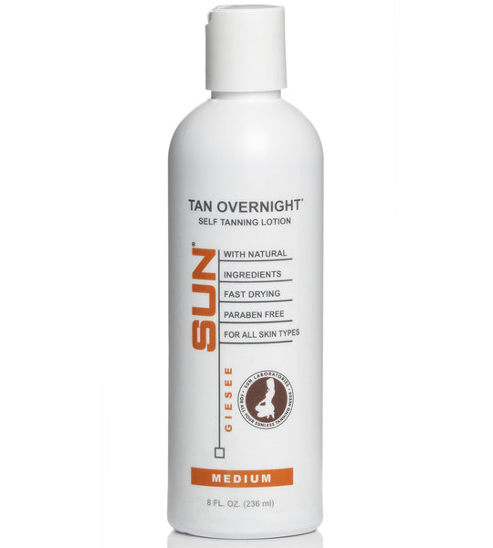 Self Tanning Lotion Medium 8 oz by Sun Labs