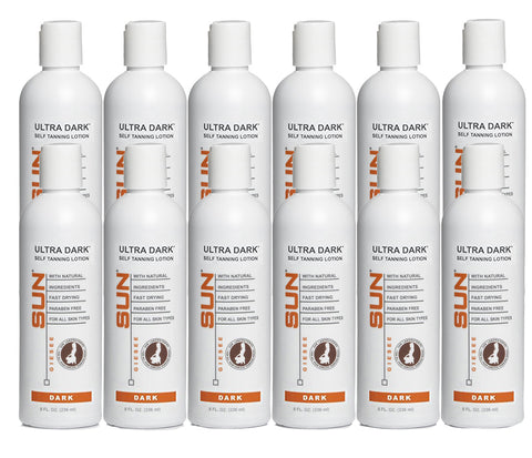 Sun Laboratories Ultra Dark 8 oz. Self Tanning Lotion (12 UNITS)