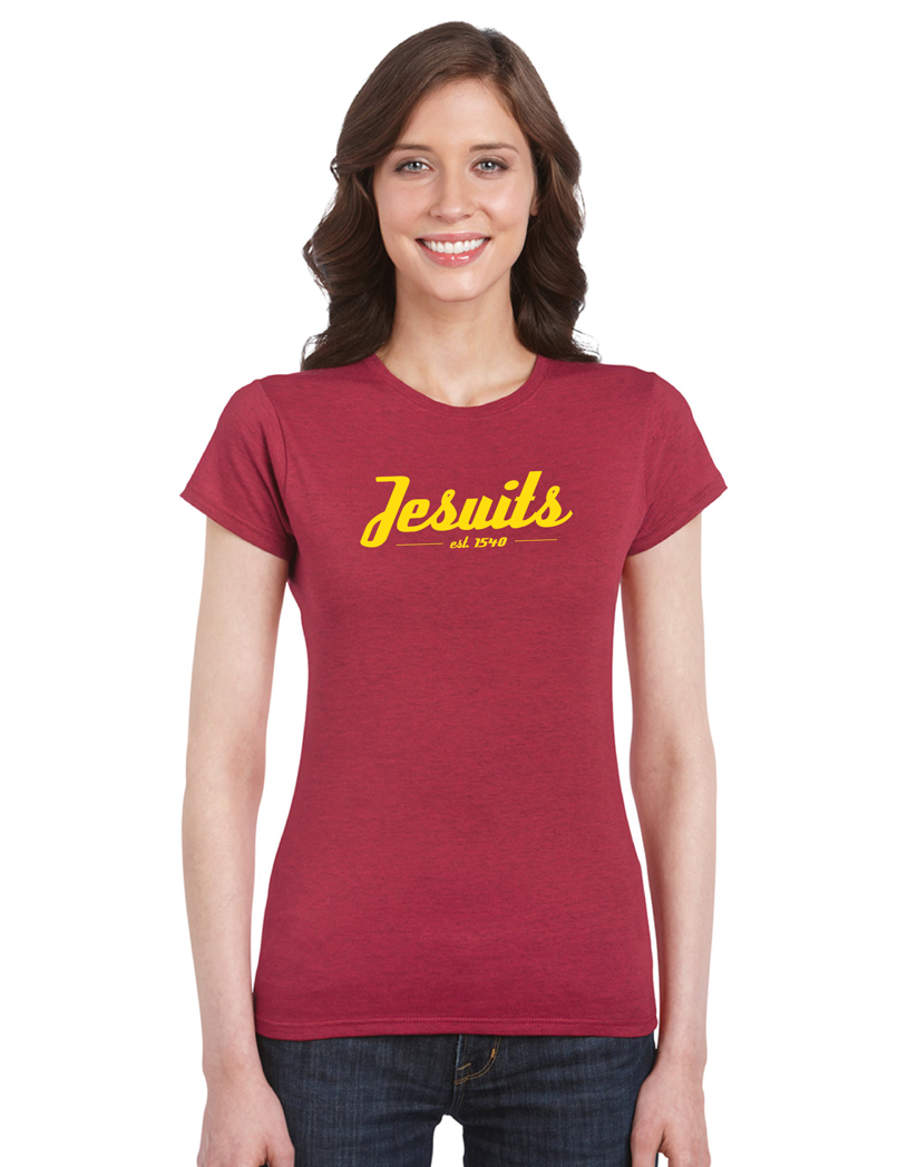 Jesuits Shirt [Antique Cherry Red] - JesuitSwag