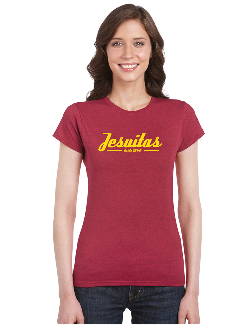 Jesuitas Shirt [Antique Cherry Red] - JesuitSwag