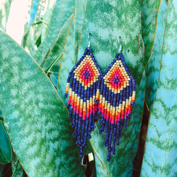 Beaded Earrings ~ Selena