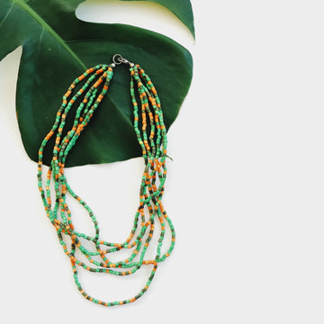 Palms Necklace Verde