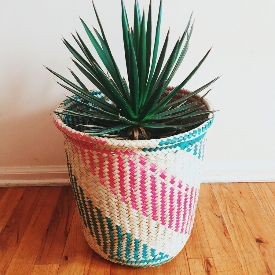 Palm Basket Stripe