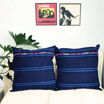 Azul Corte Pillow