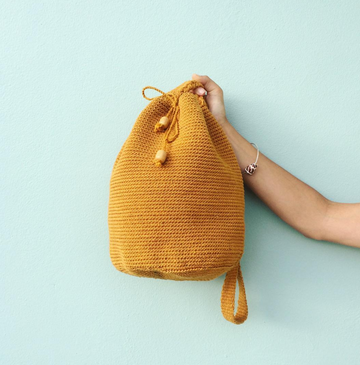 Bahia Bucket Bag Mustard