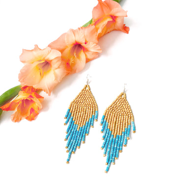 Beaded Earrings ~ Baja