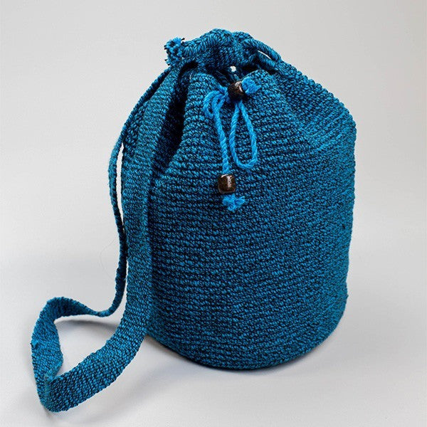 Bahia Bucket Bag Persian Blue