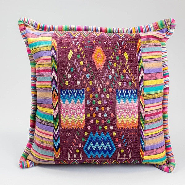 Santa Cruz Huipil Pillow