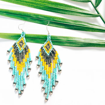 Beaded Earrings ~ Cabo Rojo