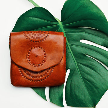 Leather Sun Pouch