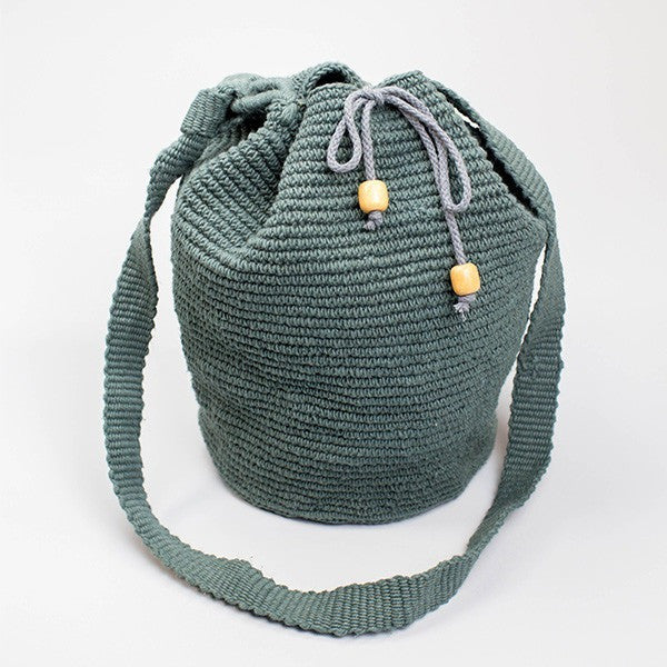 Bahia Bucket Bag Smokey Grey
