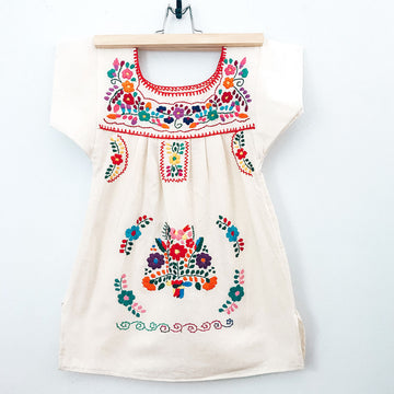 Kids La Flor Dress ~ Zoe Size 4