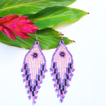 Beaded Earrings ~ El Coco