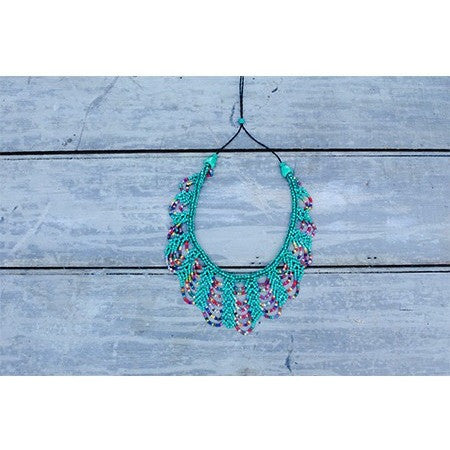 Scallop Necklace Turquoise