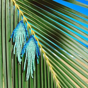 Beaded Earrings ~ Mar