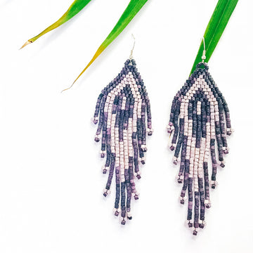 Beaded Earrings ~ Uvita
