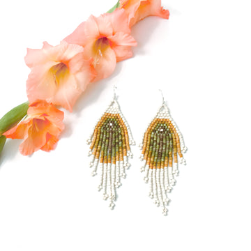 Beaded Earrings ~ Carmen