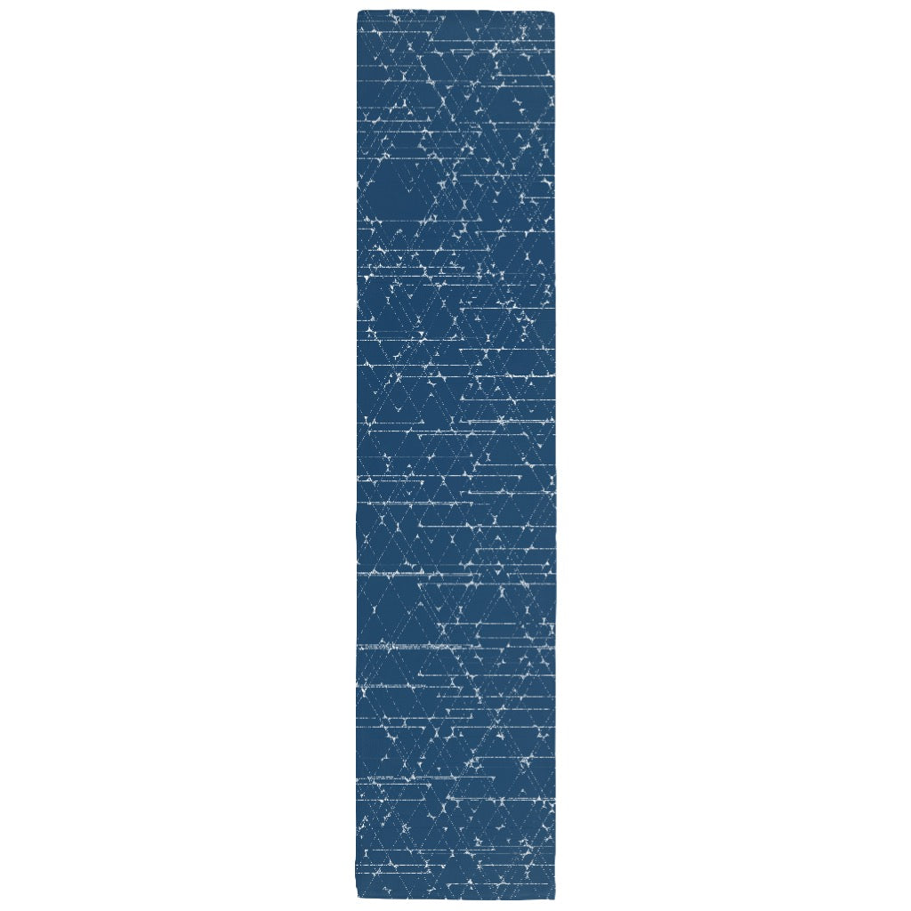 Hanukkah Table Runner: Minimalist Star of David Print