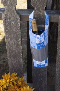 Wine Bags, Gift Bags, Hanukah, Shabbat Wine, Chanukah, David Star, Menorah,