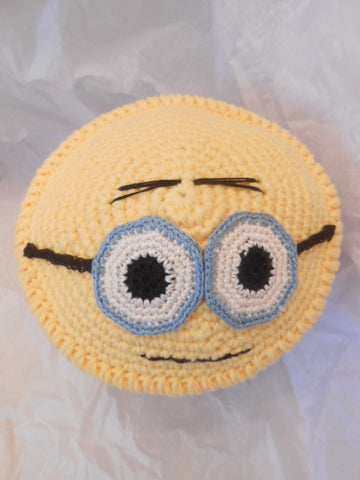 Minion Kippah Fun All Cotton Yarmulke for Kids