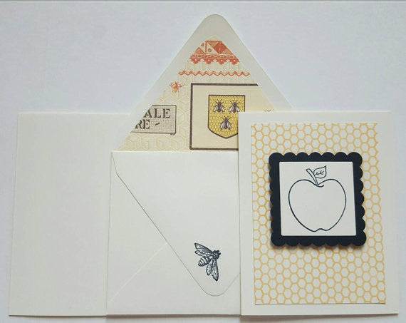 Apple & Honey - Rosh Hashanah Card