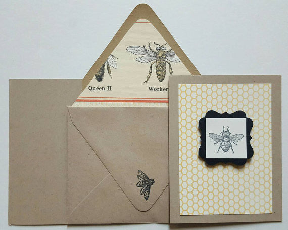 The Amazing Honeybee - Rosh Hashanah Card