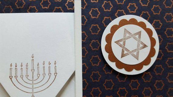 Hanukkah Star of David - Box of 6