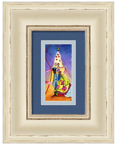 'Cherish' Romantic Jewish fine art print for weddings, engagements, and announcements