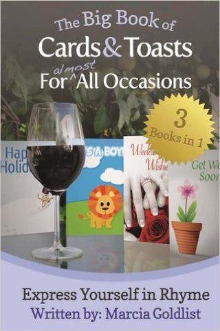 The Big Book of Cards & Toasts For Almost All Occasions: Express Yourself in Rhyme (Free Shipping)