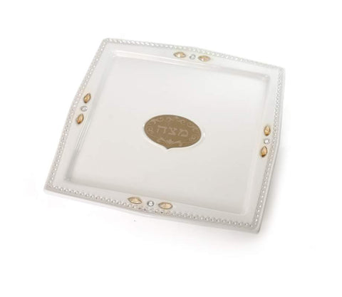 Ceramic and Zircon Matzah Plate
