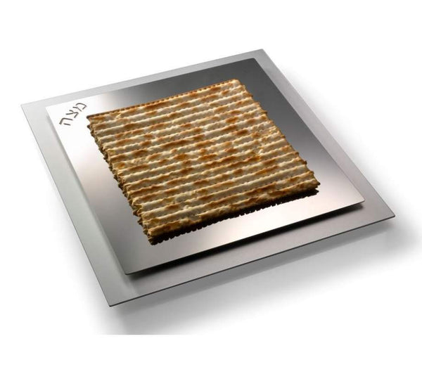 Stainless Steel Matzah Tray by Laura Cowan