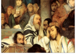 Yom Kippur Cards—Praying at Shul