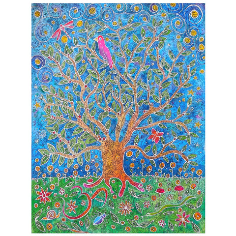 Tree of Wisdom and Knowledge Art Print