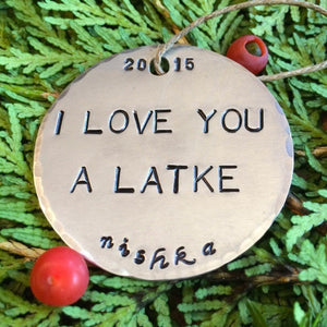I Love You A Latke
