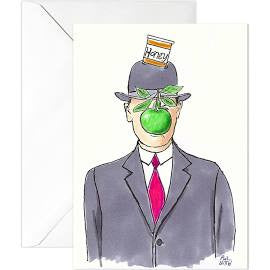 10 Pack Surreal Jewish New Year Cards by Phil Witte
