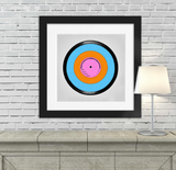 Retro Modern Art Record Ketubah