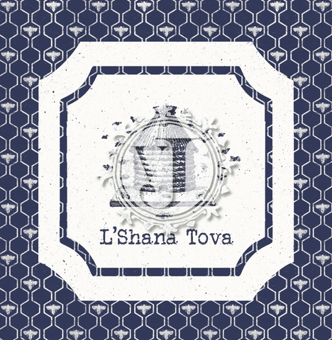 10 Stylish Cards: Beehive L'Shana Tova