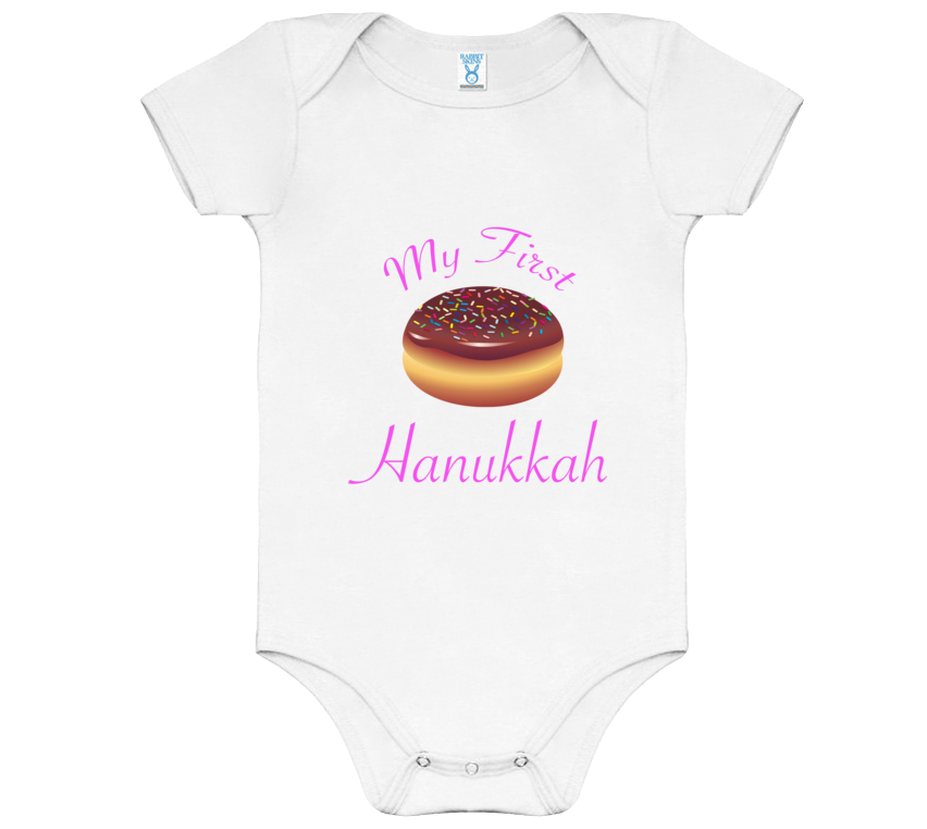 My First Hanukkah Donut Onesie