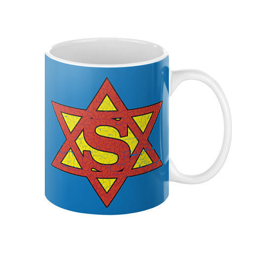 super jew funny jewish coffee mugs