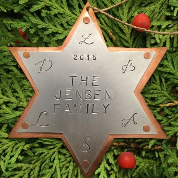 Star of David Ornament