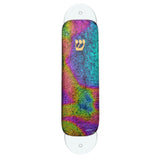 "Colorful ""Tie Dye Pattern"" Dichroic Glass Mezuzah Case"
