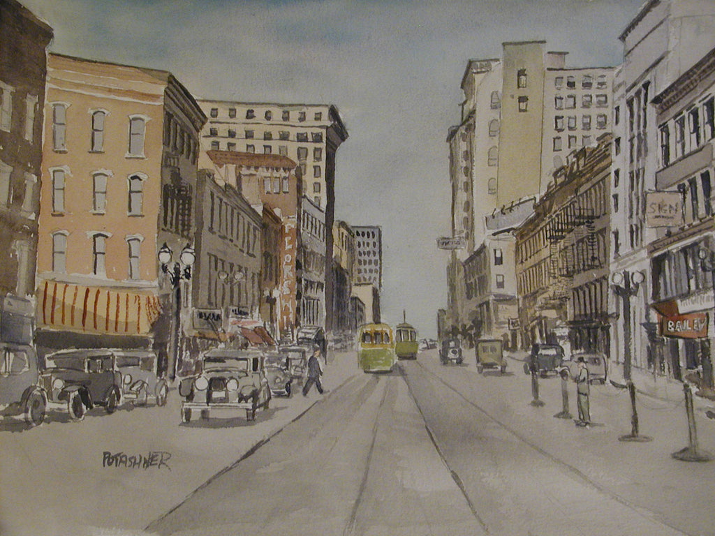 Early Rochester Watercolor: Jewish Paintings by Artist Martin Potashner