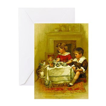"""Kitty"" Holiday Cards 10 Pack With Envelopes"