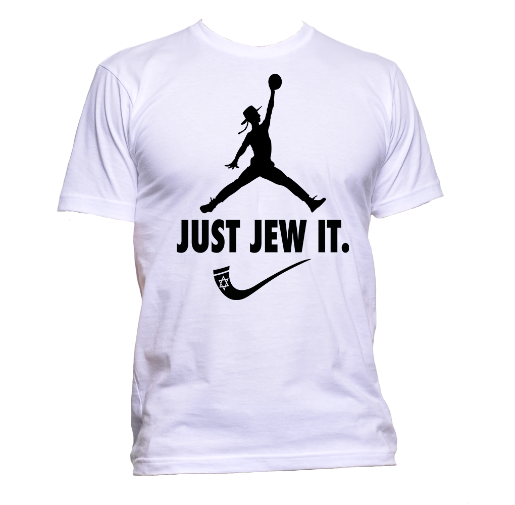 Just Jew It Dunking Rabbi Humorous Tee Shirt