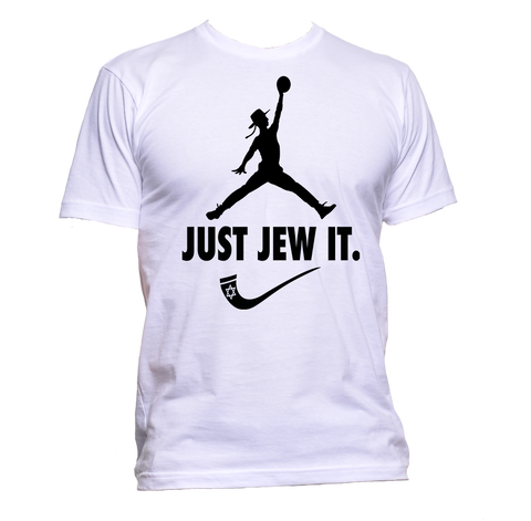 Just Jew It Dunking Rabbi T-Shirt